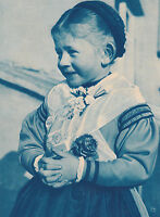 Zell am Harmersbach Schwarzwald - Kind in Tracht um 1930 oder früher