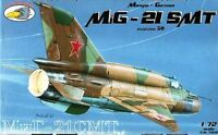 MiG 21 SMT/MT FISHBED K (SOVIET AF MKGS)#72030 1/72 RV AIRCRAFT (BEST EVER MADE)