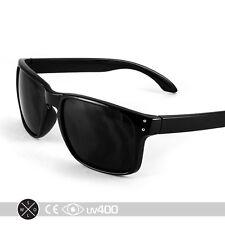 Black Keyhole Sunglasses Smoke Hip Trendy Popular New Glasses Free Case S048