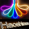 5M 2835 600LED Neon Tube Flexible LED Sign Light Strip 12V Rope Wire Waterproof