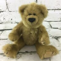 Ty Collectible Teddy Bear Plush Golden Brown Jointed Stuffed Animal Vintage 1993