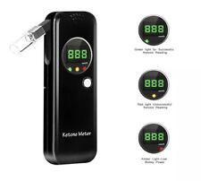 New Ketone Breath Meter, Acetone Ketosis Analyzer w/ 10 Mouth Pieces