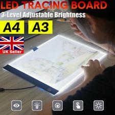 A3 LED Drawing Tracing Board Light Box Tattoo Art Stencil UltraThin Lightbox Pad