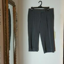 Ladies Twenty-One Grey Capris with Cuffed Bottoms Size 7