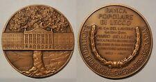 medaglia banca popolare di lecco 1967