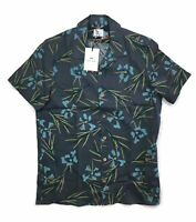 PS By Paul Smith Floral Print Casual Fit Shirt - Grey - Medium - RRP £125 - New