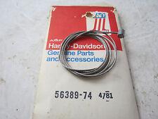 NOS OEM HARLEY DAVIDSON Shovelhead Sportster THROTTLE CABLE CORE PN 56389-74