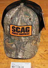 SCAG CAMO WITH PATCH ON HAT PART NUMBER 38-04