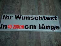 Wunschtext Aufkleber Auto Domain Beschriftung Schriftzug Cartatto Chromfolie !