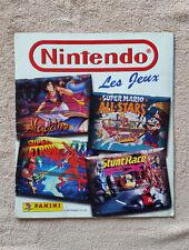 Album Panini Nintendo / bon état général / bon de commande / 3 images manquantes