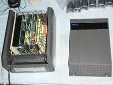 NEC DS2000 System DX7NA-48M BDS, complete 8x16 system w/8 hour voicemail