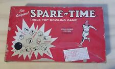 The Original Spare-Time Table Top Bowling Game vintage 1964 Park Avenue Edition