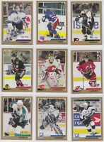 2003-04 Topps Traded Gold /50 - Choose From List - NHL Hockey RARE