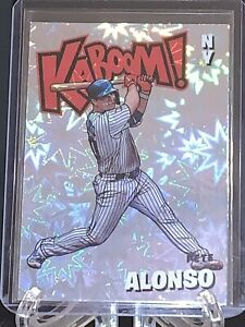 PETE ALONSO 2021 PANINI ABSOLUTE KABOOM CASE HIT NEW YORK METS PARALLEL SSP