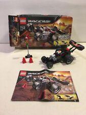 Lego Racers 8164 Extreme Wheelie Motor Action Set Complete 2009