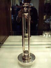 Swid Powell Richard Meier Modernist Silver Plate Candleholder /Candlestick/ RM