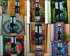 Handmade Small Window Curtain Door Window Mandala Indian Curtain Hippie Bohemian