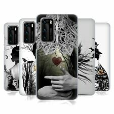 OFFICIAL LOUIJOVERART DOUBLE EXPOSURE GEL CASE FOR HUAWEI PHONES