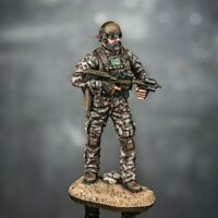 Painted Toy Soldiers US Special Forces Miniature 1/32 Metal Commando 54mm