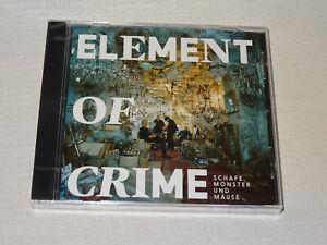 ELEMENT OF CRIME - SCHAFE MONSTER UND MÄUSE / ALBUM-CD 2018 OVP! SEALED!