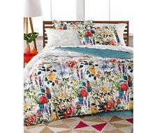 Leslie Floral Reversible 8 Piece Bedding Ensembles King Size Bed Set New!