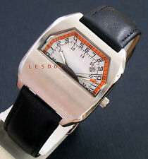 brand new flyback double hands type watch cool watch vintage retro 1970 ltd ed