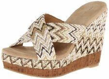 Women's Volatile Tracee Wedge - Brown Multi - HOT BUY!!