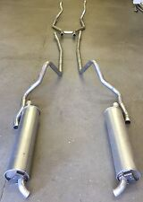 1964 FORD GALAXIE HARDTOP DUAL EXHAUST, 304 STAINLESS, WITH 352 & 390 ENGINES