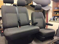 VW Transporter T5 Factory Seat Covers Tassimo Plaice And More Also Re Trimming