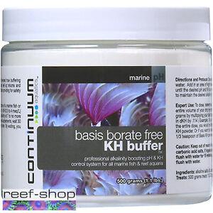 Continuum Basis Borate Free KH Buffer 500 grams Reef Building Buffer Powder