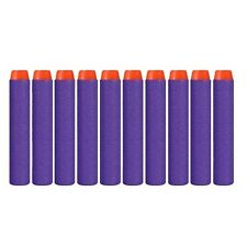20 Pcs PURPLE 7.2cm Refill Bullets darts for Nerf N-Strike Elite Gun *CHEAP*