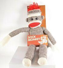 Sock Monkey 20 Inches Tall Stuffed Animal New Schylling