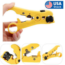 Rotary Coax Stripper Coaxial Cable Wire Cutter Stripping Tool Rg59 Rg6 Rg7 Rg11