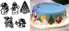 Santa Snowman Christmas Tree Patchwork Cutters set  NEXT DAY DESPATCH