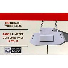 4ft Led Shop Light 42-Watts Instant-On 4500 Lumens with White Finish