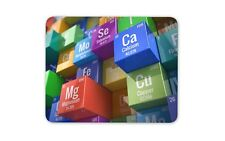 3D Periodic Table Mouse Mat Pad - Science Teacher Chemistry Gift Computer #13266