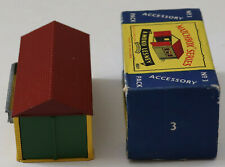DTE LESNEY MOKO MATCHBOX ACCESSORY A-3 METAL HOME STORE W/CONNECTING CLIP NIOB