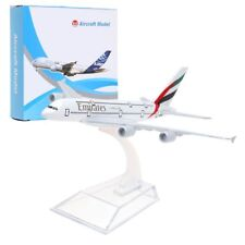Emirates A380 Airbus 14CM Airlines Die Cast Metal Desk Aircraft Plane Model Toy