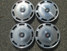 Buick 13 inch metal hubcaps wheel covers factory set