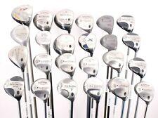 Lot of 24 Various Golf Club Woods TaylorMade Callaway Cobra Various Models RH
