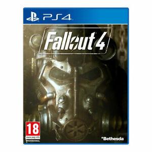 FALLOUT 4 (PlayStation 4, 2015)