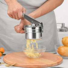 Universal Stainless Steel Potato Ricer Masher Hand Held Smooth Vegetable Fruit