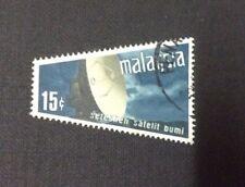 Malaysia  Seteshen Satelit Bumi 1970  15cents  Used