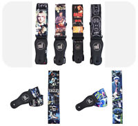 Cult Band Guitar Strap beatles rolling stones eagles nirvana rock gotthic acdc