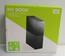 WD MY BOOK 4TB  EXTERNAL USB 3.0 HDD OPEN BOX