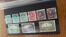 Briefmarken Großbritanien Dominion Canada 1899,1911,1928, Jahre. Seltene.