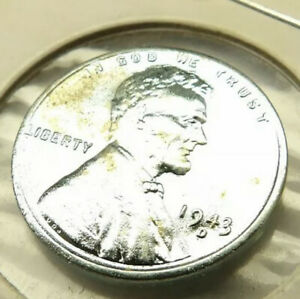 1943-D LINCOLN WHEAT PENNY CENT COIN UNCIRCULATED + FREE SHIPPING!
