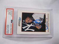 2001 Derek Jeter Studio Donruss Autograph Baseball Card #5 PSA Certified  Encap