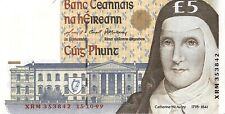 Ireland 5 Pounds 1999 Banknotes aUNC (About Uncirculated)