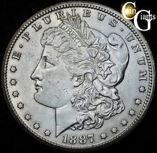 1887-S/S RPM Morgan Silver Dollar Choice Uncirculated VAM-2 Top 100 Variety RARE